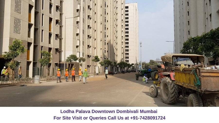 Lodha Palava Downtown Mumbai Actual View of Project (2)