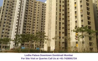 Lodha Palava Downtown Mumbai Actual View of Project (3)