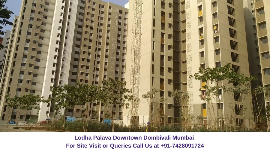 Lodha Palava Downtown Mumbai Actual View of Project (3)