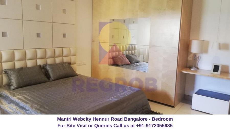 Mantri Webcity Hennur Road Bangalore Bedroom