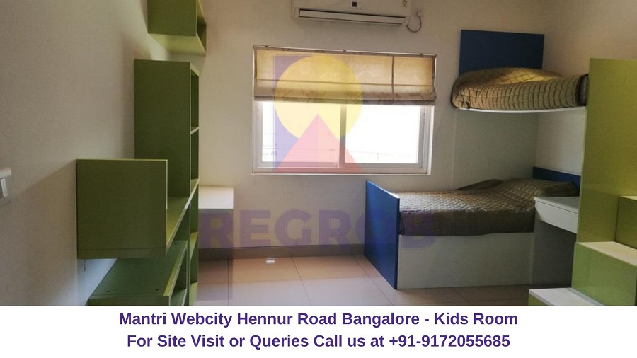 Mantri Webcity Hennur Road Bangalore Kids Room
