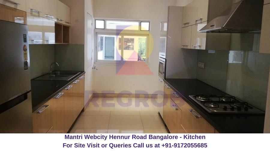 Mantri Webcity Hennur Road Bangalore Kitchen