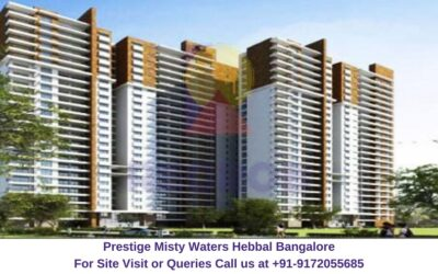 Prestige Misty Waters Hebbal North Bangalore