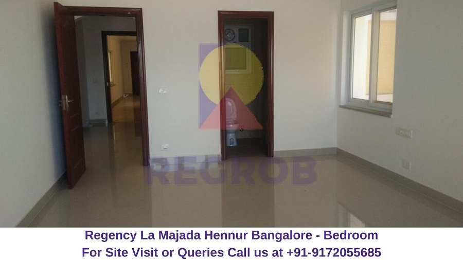 Regency La Majada Hennur Bangalore Bedroom