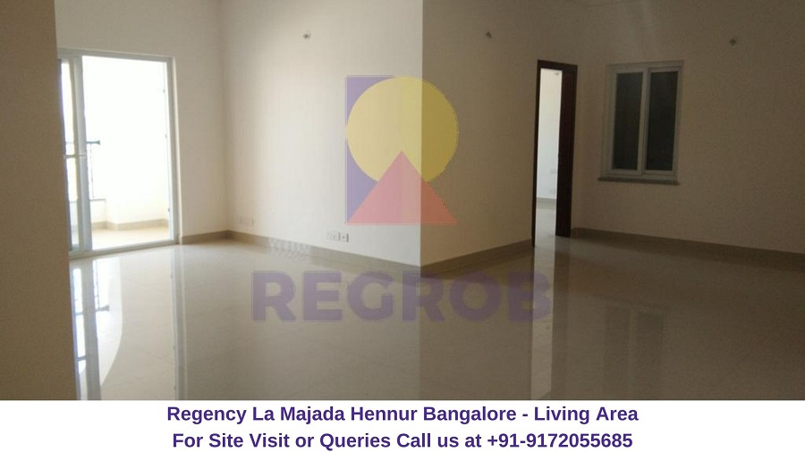 Regency La Majada Hennur Bangalore Living Area