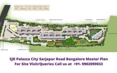 SJR Palazza City Bangalore Master Plan