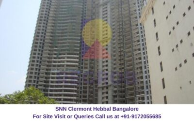 SNN Clermont Hebbal Bangalore Actual View (1)