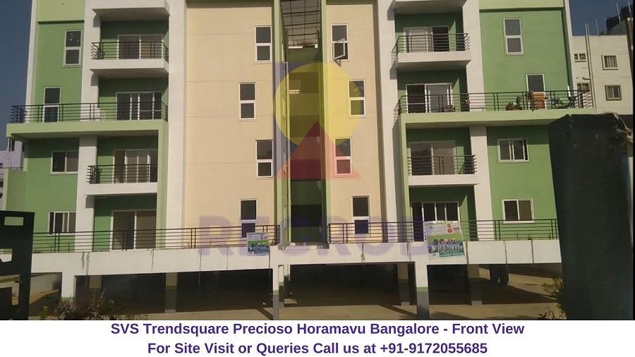 SVS Trendsquare Precioso Horamavu Bangalore Front View