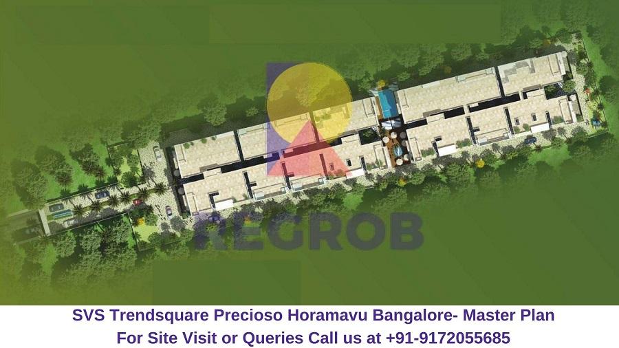 SVS Trendsquare Precioso Horamavu Bangalore Master Plan