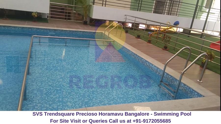 SVS Trendsquare Precioso Horamavu Bangalore Swimming Pool