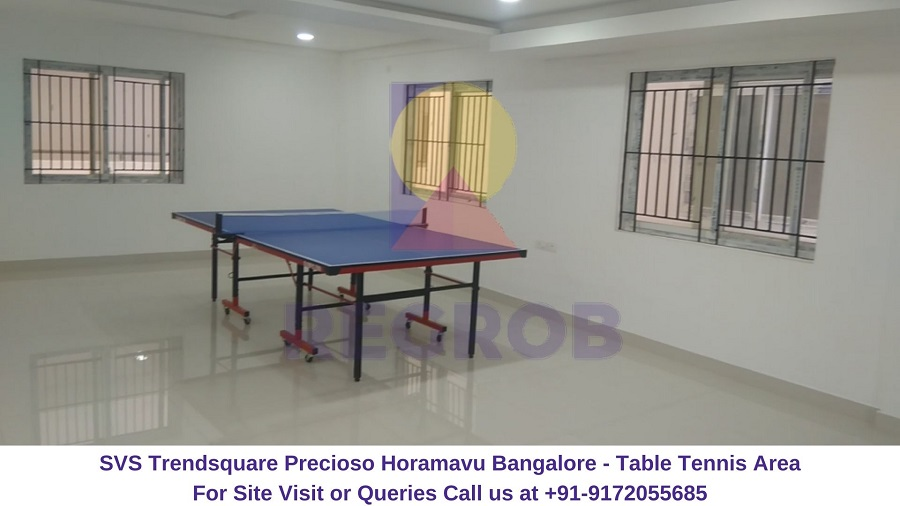 SVS Trendsquare Precioso Horamavu Bangalore Table Tennis Area
