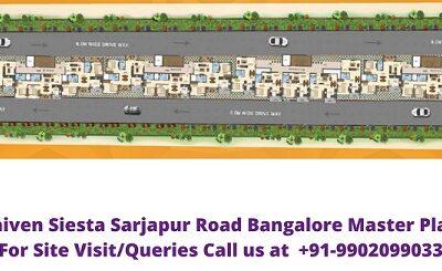 Saiven Siesta Sarjapur Road Bangalore Master Plan