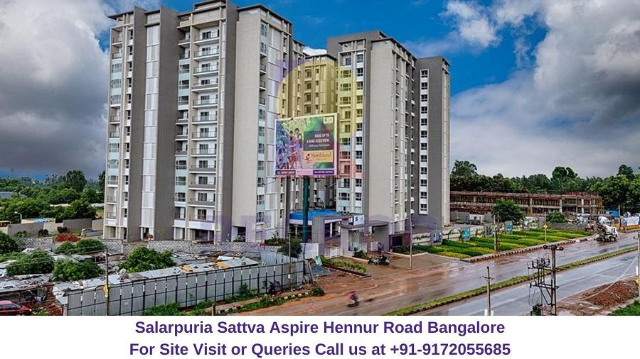 Salarpuria Sattva Aspire Hennur Road Bangalore