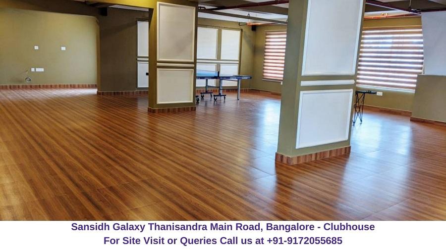 Sansidh Galaxy Thanisandra Main Road, Bangalore Clubhouse