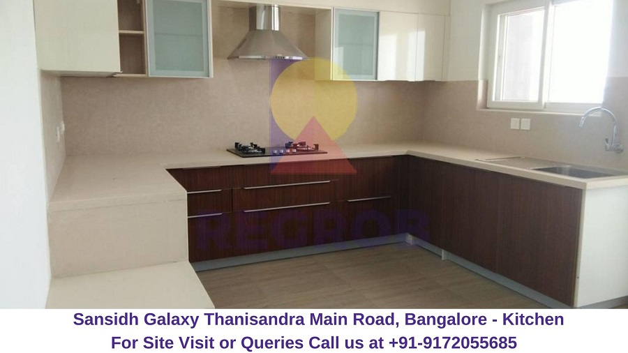 Sansidh Galaxy Thanisandra Main Road, Bangalore Kitchen