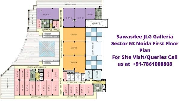 Sawasdee Jlg Galleria First Floor Plan