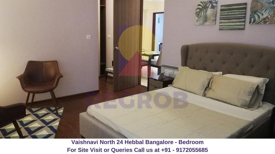 Vaishnavi North 24 Hebbal Bangalore Bedroom