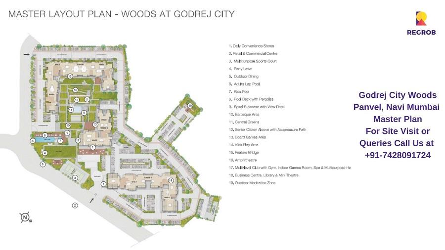 Godrej City Woods Panvel, Navi Mumbai Master Plan