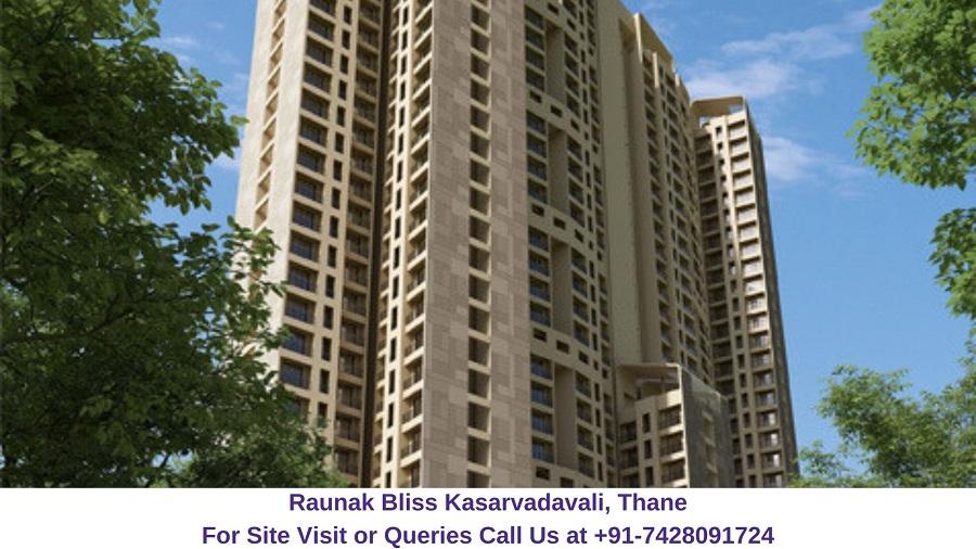 Raunak Bliss Kasarvadavali, Thane (1)