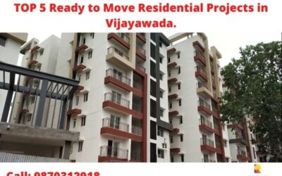 TOP 5 Ready to Move Residential Projects in Vijayawada.