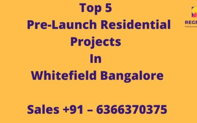 Top 5 Pre-launch Residential Projects in Bangalore