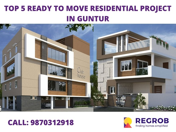 TOP 5 READY TO MOVE RESIDENTIAL PROJECT IN GUNTUR