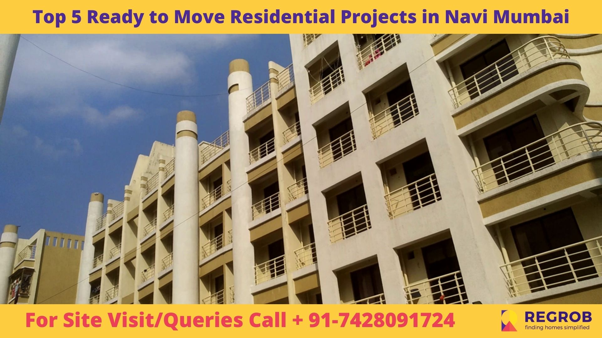 Top 5 Ready to Move Residential Projects in Navi Mumbai