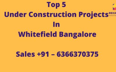 Top 5 Residential projects in Whitefield