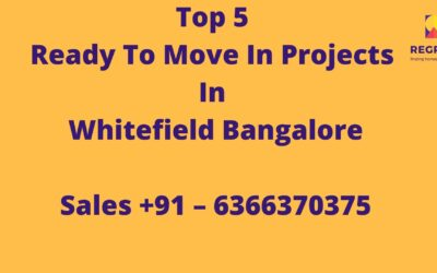 ready to move in projects in whitefield bangalore