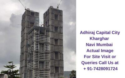 Adhiraj Capital City Kharghar Navi Mumbai Construction Site (3)