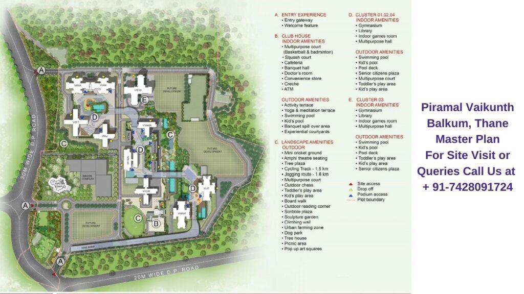 Piramal Vaikunth Balkum, Thane Master Plan