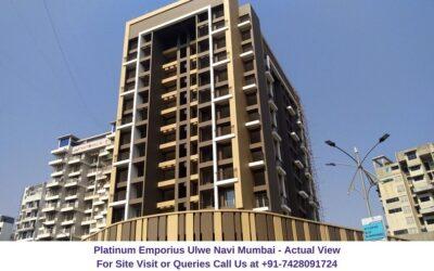 Platinum Emporius Ulwe Navi Mumbai Actual View