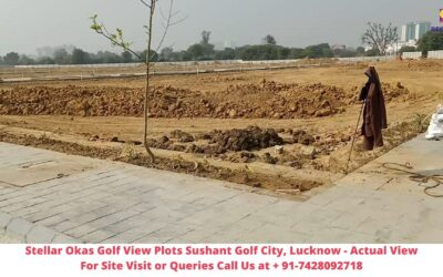 Stellar Okas Golf View Plots Sushant Golf City, Lucknow