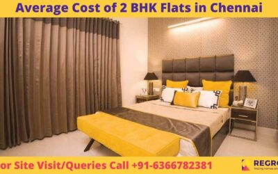 Average Cost of 2 BHK Flats in Chennai
