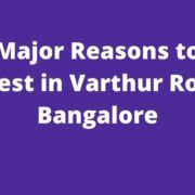 Varthur Road Bangalore