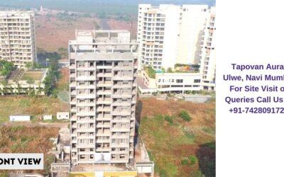 Tapovan Aura Ulwe Navi Mumbai Actual View of Construction Site (2)