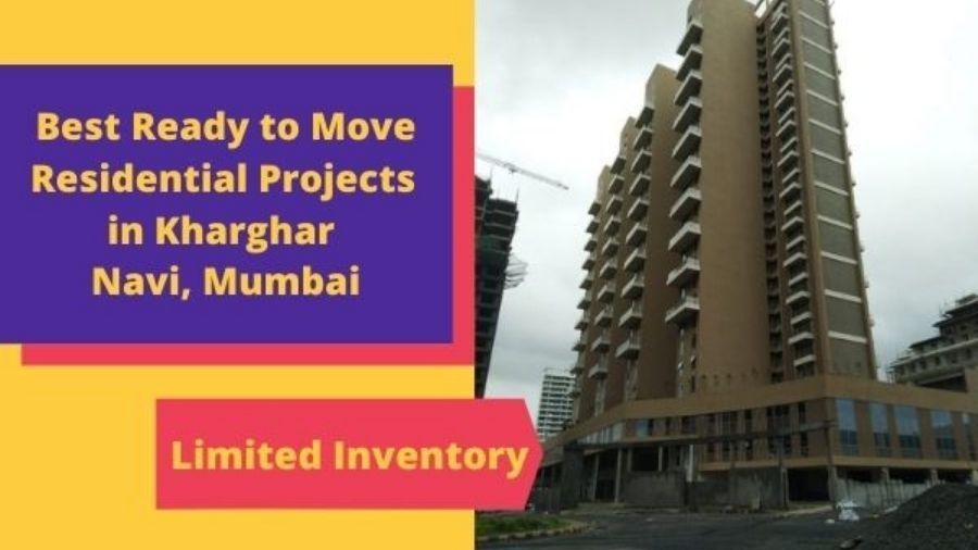 Top 2 Ready to move residnetial projects in Kharghar Navi Mumbai