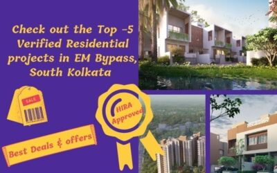 Top-5 Projects in EM Bypass South Kolkata