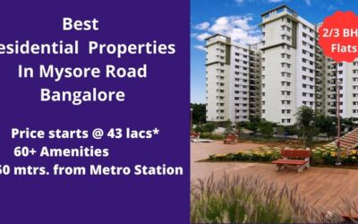 Best Residential Properties in Mysore Road, Bangalore