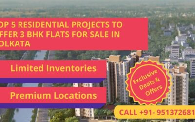 Top 5 Residential Projects Offer 3 BHK Flats in Kolkata