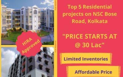 Top 5 Residential Flats on NSC Bose Road Kolkata