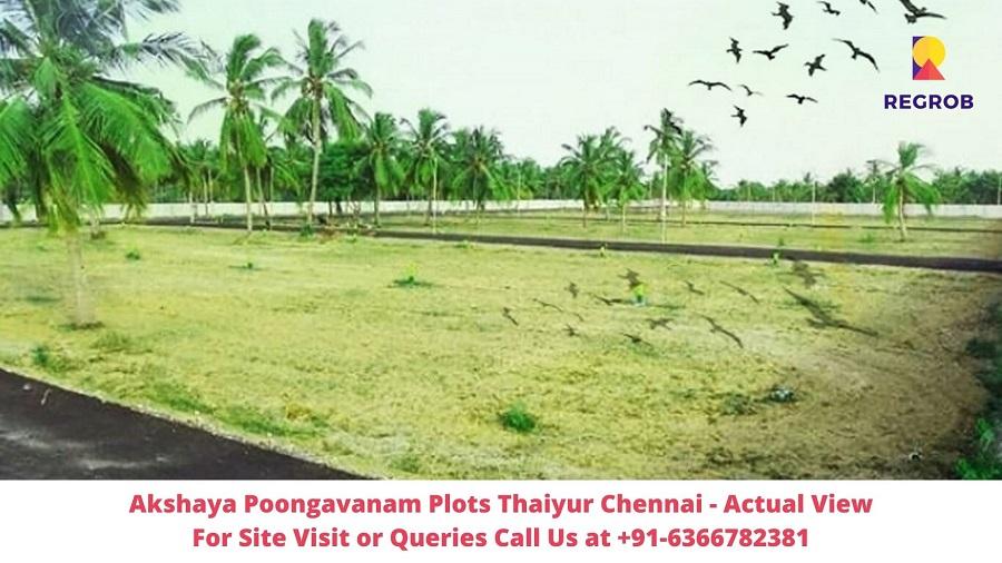 Akshaya Poongavanam Plots Thaiyur Chennai