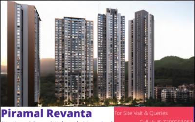 Project View of piramal revanta