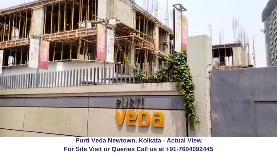 Purti Veda Newtown Kolkata Actual View (1)