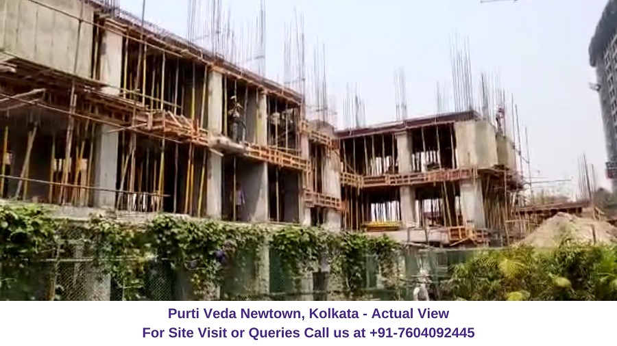 Purti Veda Newtown Kolkata Actual View (2)