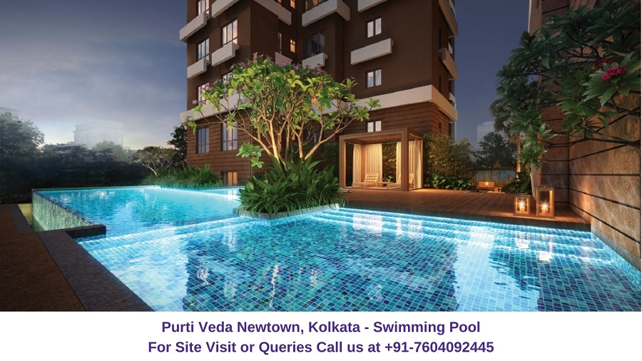 Purti Veda Newtown Kolkata Swimming Pool