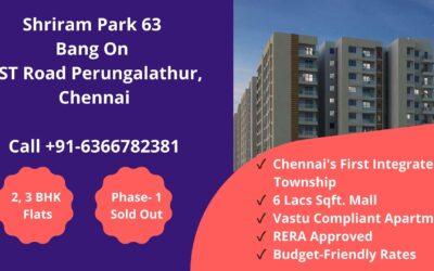 Shriram Park 63 Chennai
