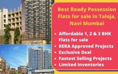 Top 5 Ready Possession Flats for sale in Taloja Navi Mumbai