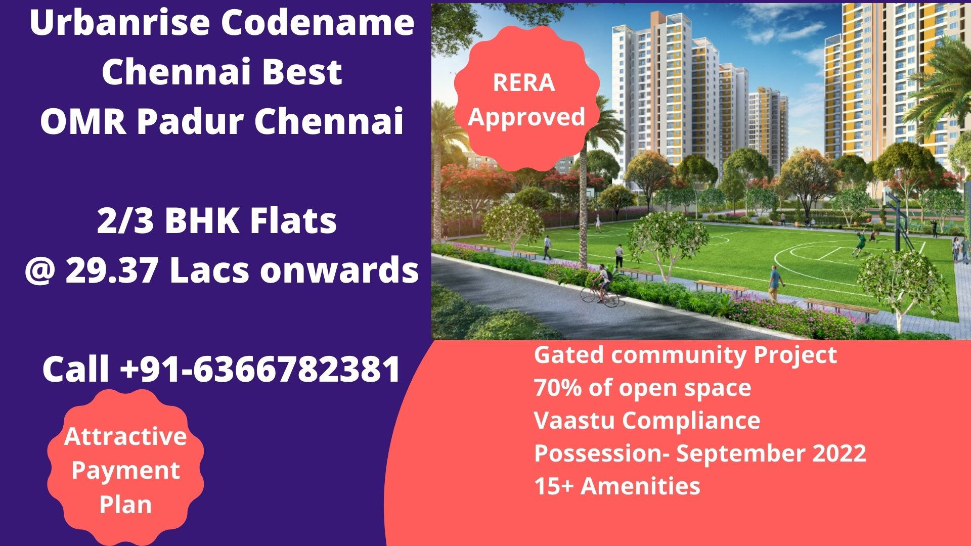 Urbanrise Codename Chennai Best