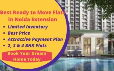 best ready to move flats in noida extension